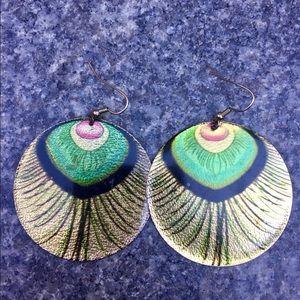 Jewelry - Peacock Earrings